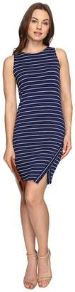 Kensie Lightweight Viscose Spandex Dress and Side Slit KS6K7219 Women's Dress