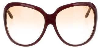 Tom Ford Sabine Oversize Sunglasses