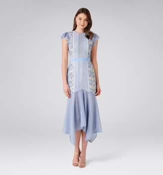 Forever New Elodie Lace Fishtail Dress