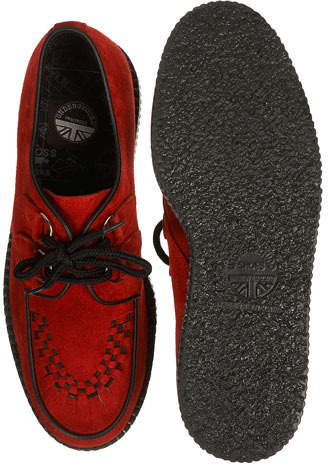 Topman Brothel Creeper D Ring Shoes