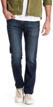 AG Matchbox Slim Straight Leg Jean $198 thestylecure.com