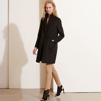 Ralph Lauren Wool-Blend Single-Button Coat $340 thestylecure.com