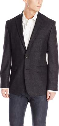 Vince Camuto Men's Modern Fit 2 Button Side Vent Sport Coat