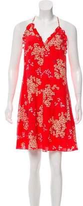 Rebecca Taylor Silk Printed Mini Dress