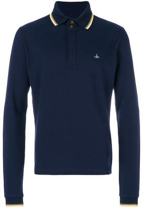 Vivienne Westwood long sleeved polo shirt