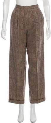 Ralph Lauren High-Rise Wide-Leg Pants