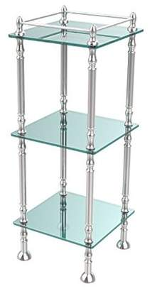Allied Brass Three Tier Etagere with 14 Inch x 14 Inch Shelves