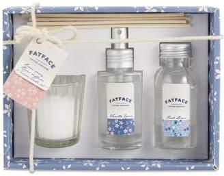 Fat Face Vanilla Crème Candle, Room Spray & Reed Diffuser Set