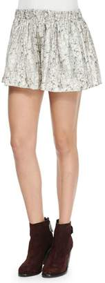 Rag & Bone Holten Silk Shorts
