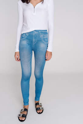 Ardene Denim print leggings