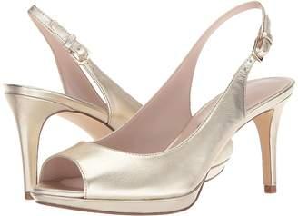 Nine West Gabrielle Slingback Peep Toe Pump Women's Shoes