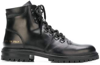 Common Projects lace-up hiking boots