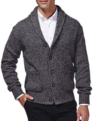 Haggar Shawl-Collar Cardigan Sweater