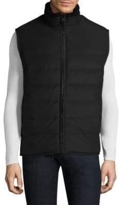 Andrew Marc Saranac Zippered Vest