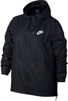 Nike Plus Size Sportswear Woven Jacket