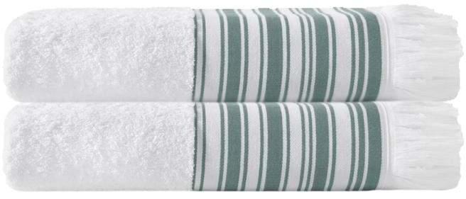 Turko Textile LLC Enchante Home Monaco Set of 2 Turkish Cotton Bath Towels