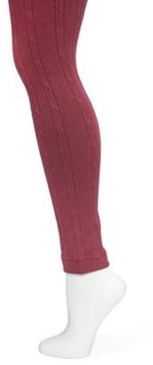 Muk Luks Women's Cable Knit Leggings