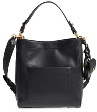 Cole Haan Small Zoe Leather Bucket Crossbody Bag