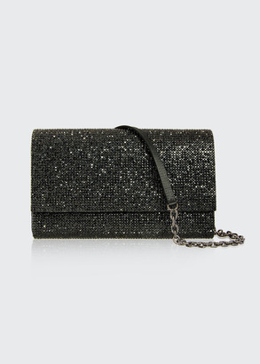 Judith Leiber Couture Fizzoni Full-Beaded Clutch Bag