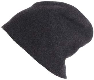 Scha Taiga Zip Long Wool Beanie Hat