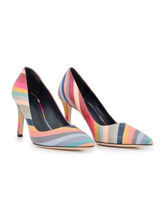 Paul Smith Blanche Swirl Court Shoes Colour: MULTI, Size: UK 4