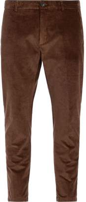 Department 5 Prince Corduroy Camel Velvet Trousers