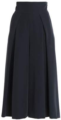 Milly Pleated Crepe Culottes