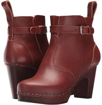 Swedish Hasbeens High Heeled Jodhpur Women's Pull-on Boots