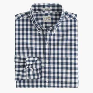 J.Crew Secret Wash shirt in faded gingham