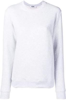 MSGM backprint logo sweatshirt