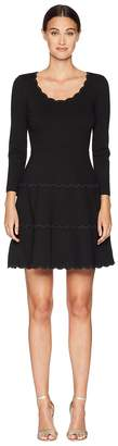 Kate Spade Broome Street Scallop Ponte Dress Women's Dress