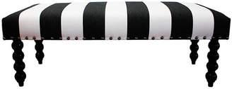 Kim Salmela Carly Bench - Black/White Stripe