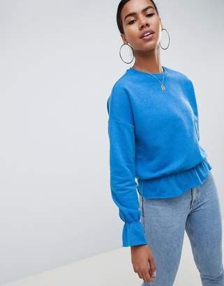 Noisy May Elasticated Cuff Sweatshirt