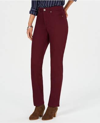 6b0d1c29f6f70 Style   Co Tummy-Control Straight-Leg Jeans