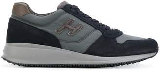 Hogan platform lace up sneakers