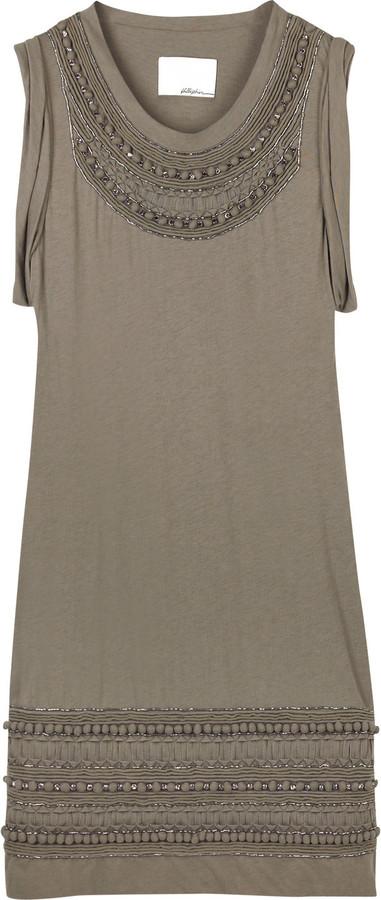 3.1 Phillip Lim Cotton jersey dress