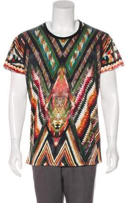 Balmain Geometric Diamond Print T-Shirt