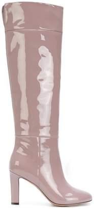 Agnona knee length boots