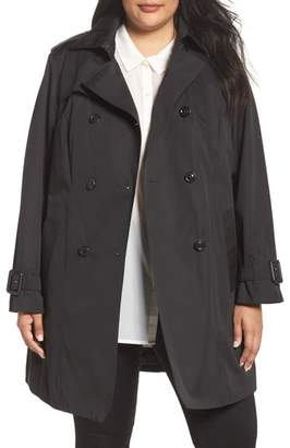 London Fog Heritage Trench with Detachable Liner