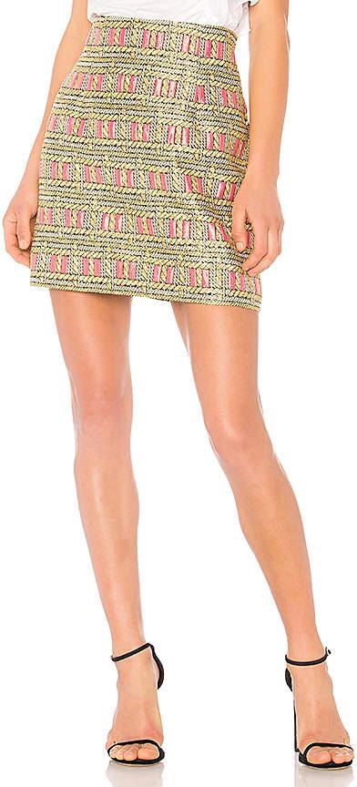 Cynthia Rowley Bonfire Mini Skirt