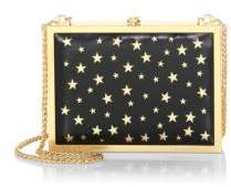 Alice + Olivia Darla Laser Cut Leather Star Clutch