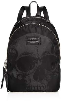 John Varvatos Star USA Skull Print Backpack $398 thestylecure.com