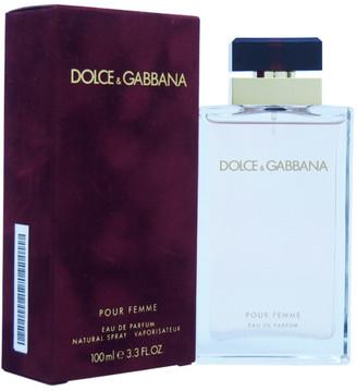 Dolce & Gabbana Women's 3.3Oz Pour Femme Eau De Parfum Spray