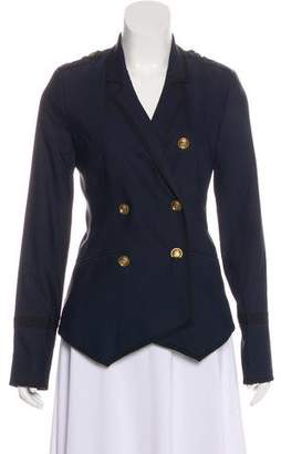 Elizabeth and James Double-Breasted Notch-Lapel Blazer
