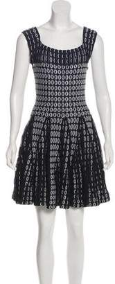 Alaia Sleeveless Mini Dress