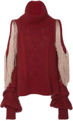 Hellessy Lawrence Turtleneck Wool-Blend Sweater