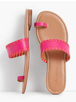 Talbots Gia Leather Toe-Ring Sandals