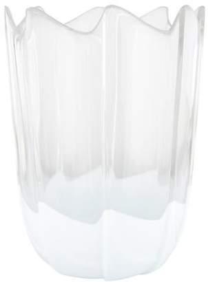 Rosenthal Scalloped Crystal Vase