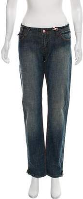 Ben Sherman Mid-Rise Straight-Leg Jeans
