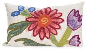 Liora Manné Visions III Gypsy Flower Indoor and Outdoor Pillow